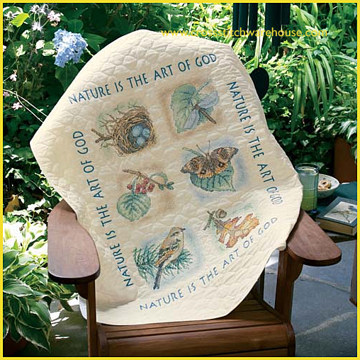 Picture of LAP QUILT - Nature