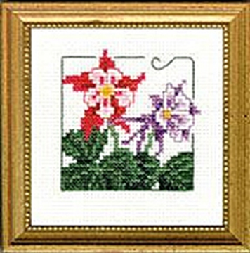 "Picture of 4"" x 4"" - Columbine"