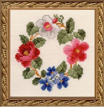 "Picture of 5"" x 5"" - Z - Floral Kit"