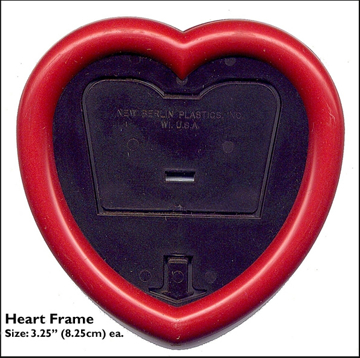 Picture of FRAMES - Heart Shape Frame 3.25""