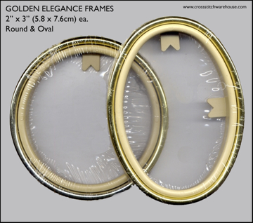 Picture of FRAMES - Golden Elegance Round & Oval