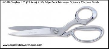 "Picture of SCISSOR - Knife Edge Bent Trimmer 10"""