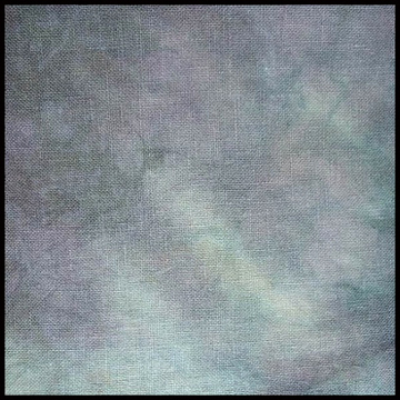 Picture of 28ct. Haunted Hand Dyed Cashel Linen.