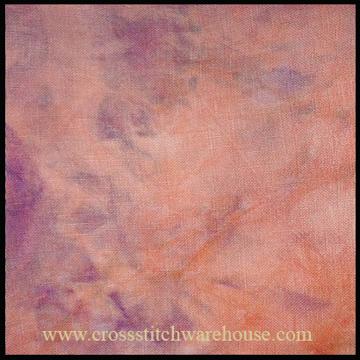 Picture of 28ct. Voodoo Hand Dyed Cashel Linen.