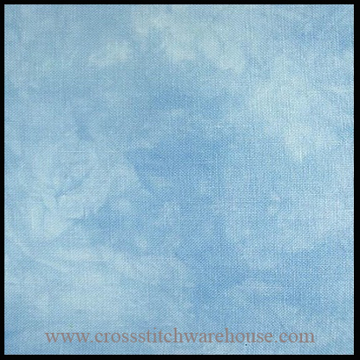 Picture of 28ct. Whirlpool Hand Dyed Cashel Linen.