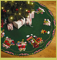 Picture for category TREE SKIRTS