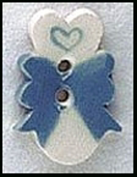 Mill Hill Hand Crafted /& Painted Ceramic Button Small Yellow Heart #86401