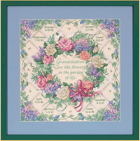 Picture for category STAMPED CROSS STITCH KITS