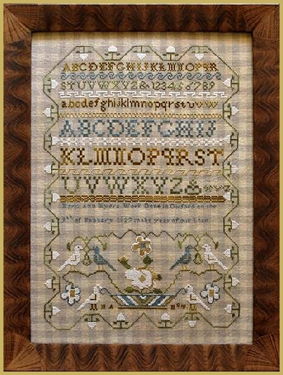 Picture for category ANTIQUE REPRODUCTION SAMPLERS