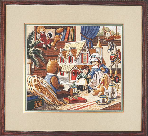 Counted Cross Stitch Kit Dimensions Needlecrafts The The Art of Tea