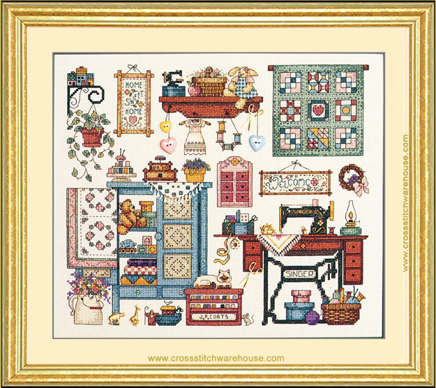 Heritage Crafts Cross Stitch Kit The Sewing Room
