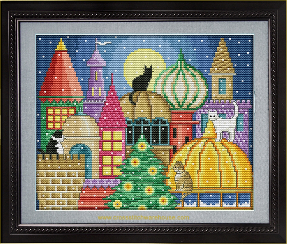 Picture for category NO-COUNT CROSS STITCH