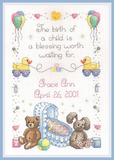 Picture for category BABY CROSS STITCH