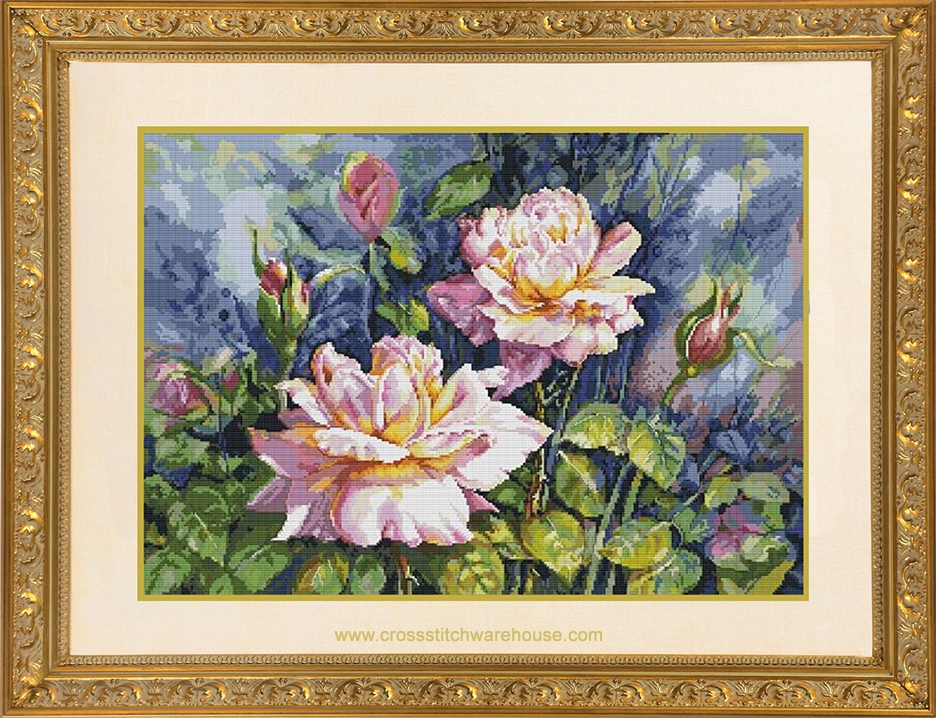 Picture for category STAMPED CROSS-STITCH KITS