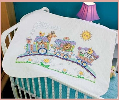 Picture for category STAMPED QUILTS & BIBS