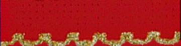16ct. Christmas & Gold AIDA STITCHBAND